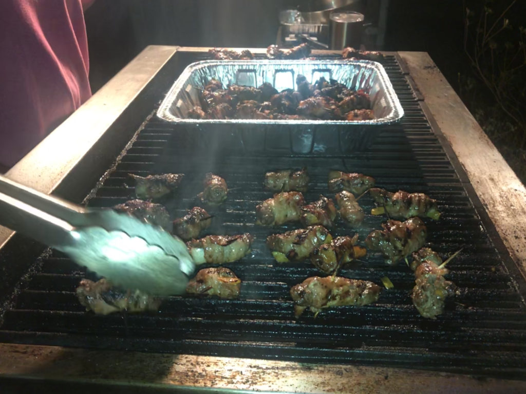 Deer Poppers on the Grill